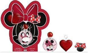 Komplekt lastele Disney Minnie Mouse: tualettvesi EDT lastele 50 ml + võtmehoidja + telefonikaunistus hind ja info | Komplekt lastele Disney Minnie Mouse: tualettvesi EDT lastele 50 ml + võtmehoidja + telefonikaunistus | kaup24.ee