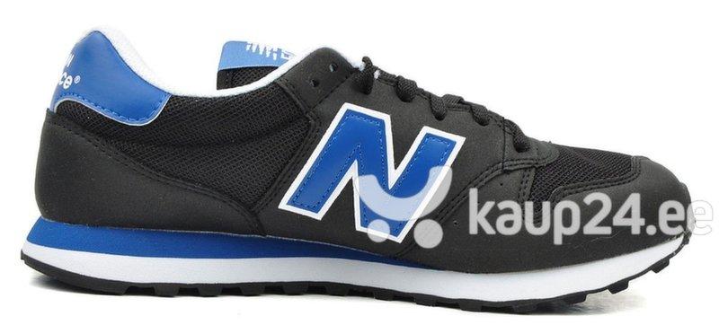 Meeste spordijalanõud New Balance 500 LY, must/sinine цена и информация | Jooksu- ja vabaajajalatsid meestele | kaup24.ee