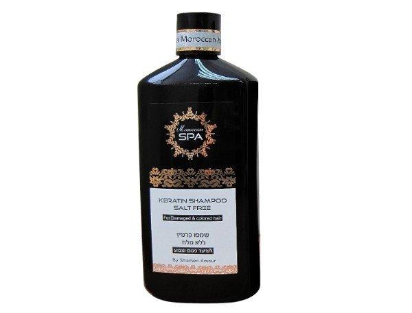 Šampoon keratiiniga kahjustatud juustele Shemen Amour Moroccan Spa 500 ml
