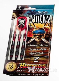 Noolemängu nooled komplekt Harrows Pirate