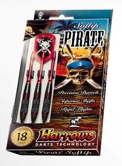 Комплект дротиков для игры в Дартс Harrows Pirate цена и информация | Noolemängud | kaup24.ee