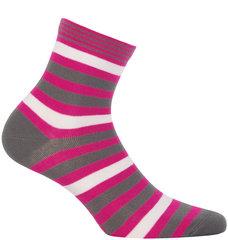 Naiste sokid WOLA, roosa/pruun