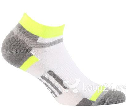 Naiste hõbedaioonidega spordisokid Ag+ WOLA, hall/valge/kollane