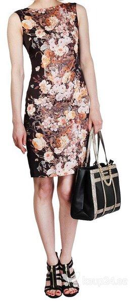 Naiste kleit Fontana 2 0 pruun must