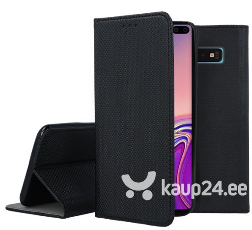 Mocco Smart Magnet Book Case For Samsung M105 Galaxy M10 Black hind