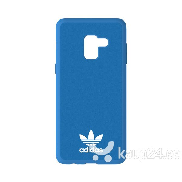 Adidas OR Moulded Case - Bumper for Samsung A730 Galaxy A8+ (2018) Blue (EU Blister)
