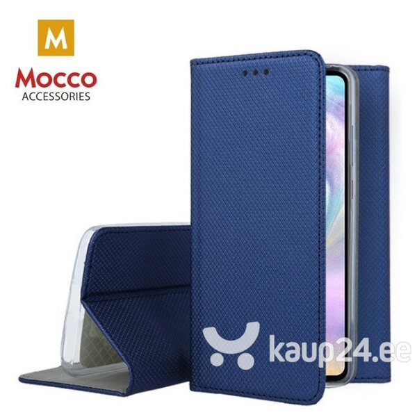 Mocco Smart Magnet Book Case For LG G7 / LG G7 ThinQ Blue hind ja info | Telefoni kaaned, ümbrised | kaup24.ee