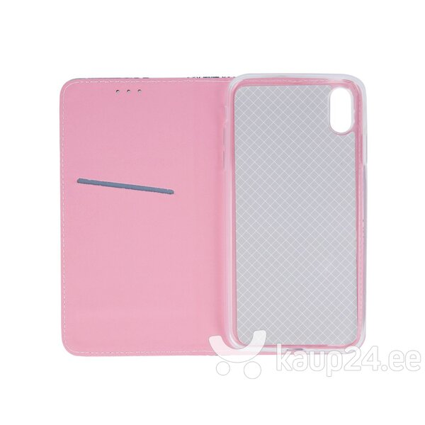 Mocco Smart Trendy Book Case For Samsung G960 Galaxy S9 Pink Flowers hind