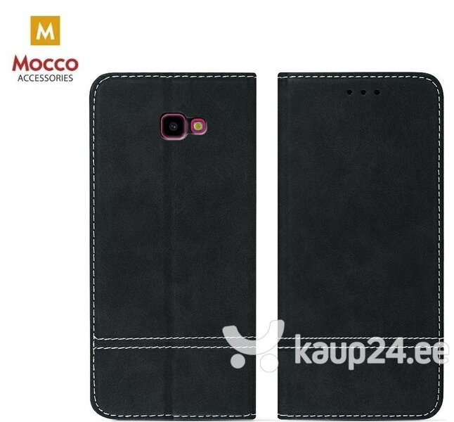 Mocco Suede Book Case For Samsung A305 Galaxy A30 Black