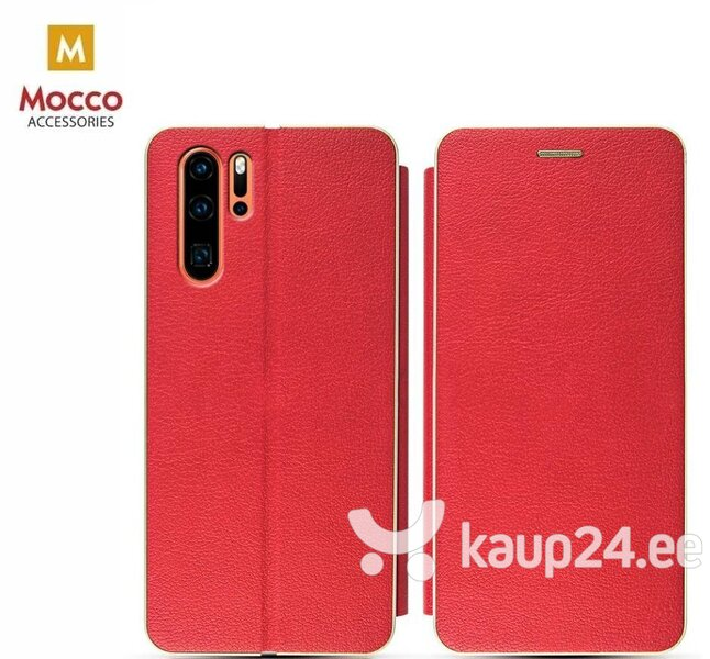 Mocco Frame Book Case For Sony Xperia XA3 / Xperia 10 Red hind ja info | Telefoni kaaned, ümbrised | kaup24.ee