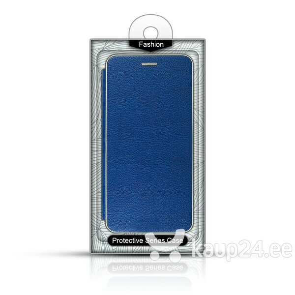 Mocco Frame Book Case For Sony Xperia XA3 / Xperia 10 Blue Internetist