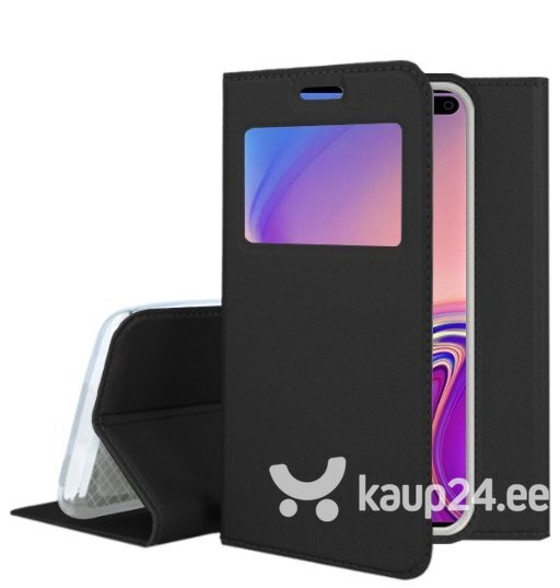 Mocco Smart Look Magnet Book Case With Window For Samsung G970 Galaxy S10e Black