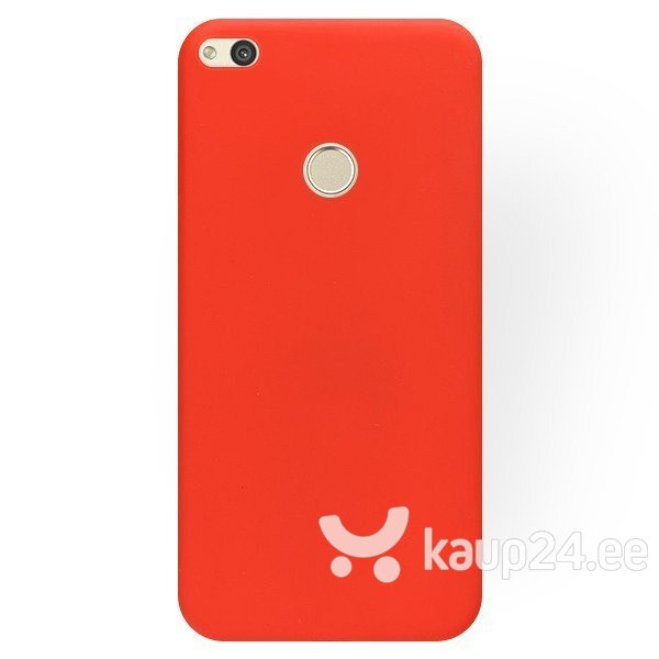Mocco Ultra Slim Soft Matte 0.3 mm Silicone Case for Huawei P10 Lite Red Internetist