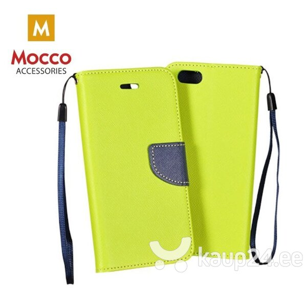 Mocco Fancy Book Case For LG H870 G6 Green - Blue hind ja info | Telefoni kaaned, ümbrised | kaup24.ee