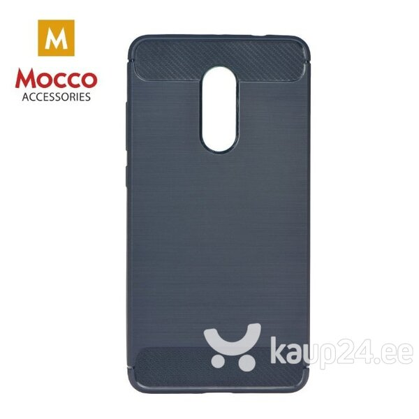 Mocco Trust Silicone Case for Xiaomi Redmi Note 5 / 5 Plus Blue hind ja info | Telefoni kaaned, ümbrised | kaup24.ee