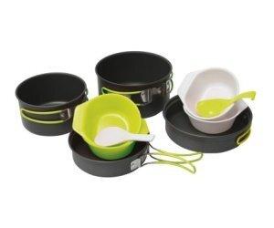 Комплект посуды для похода Pinguin Quadri цена и информация | Tarvikud turistile | kaup24.ee