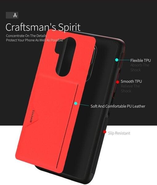 Telefoniümbris Dux Ducis Pocard Series Premium Protect Silicone Case, telefonile Samsung Galaxy Note 9, punane hind