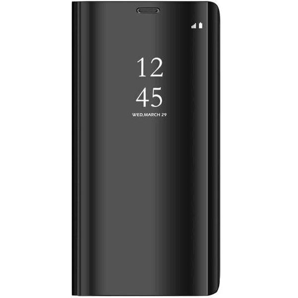 Telefoniümbris Mocco Clear View, telefonile Samsung N970 Galaxy Note 10, must Internetist