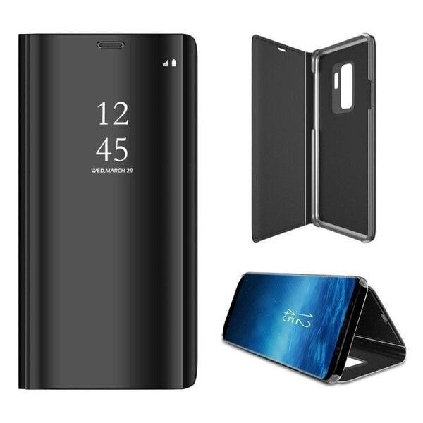 Telefoniümbris Mocco Clear View, telefonile Samsung N970 Galaxy Note 10, must soodsam