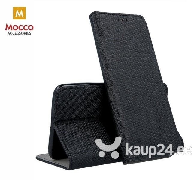 Mocco Smart Magnet Book Case For Xiaomi Redmi 7 Black hind ja info | Telefoni kaaned, ümbrised | kaup24.ee
