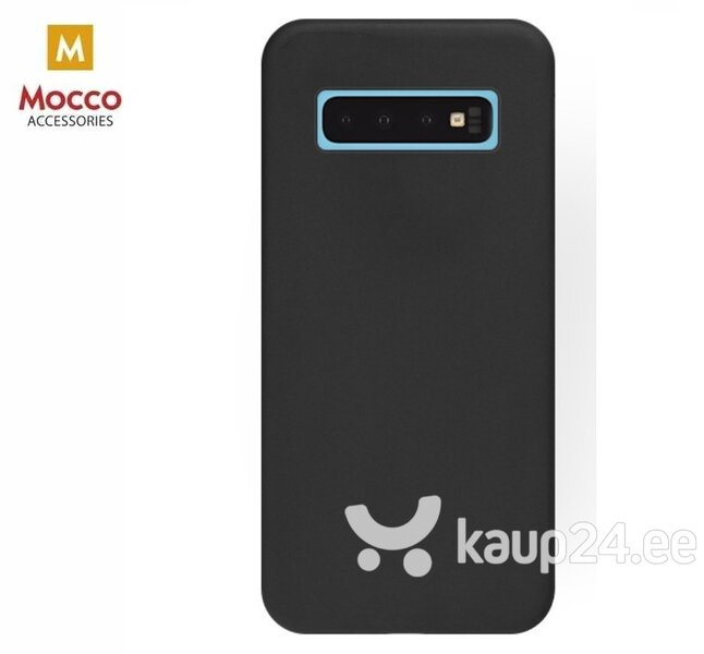 Mocco Soft Magnet Silicone Case With Built In Magnet For Holders for Samsung A705 Galaxy A70 Black hind ja info | Telefoni kaaned, ümbrised | kaup24.ee