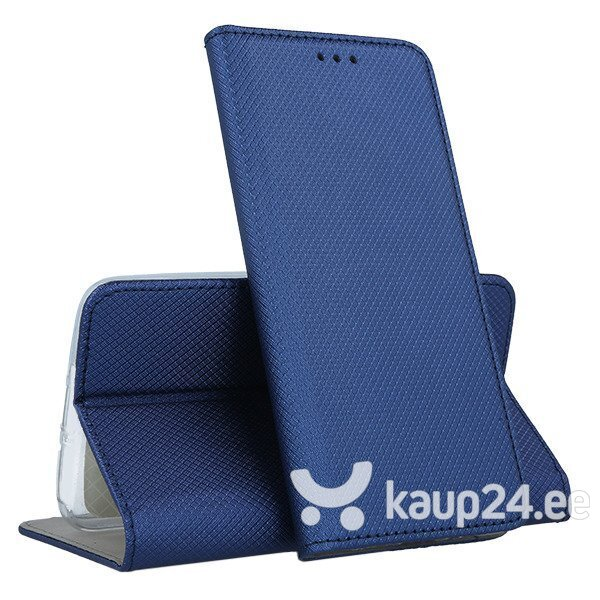 Telefoniümbris Mocco Smart Magnet Book Case For Sony Xperia XZ4 Blue hind