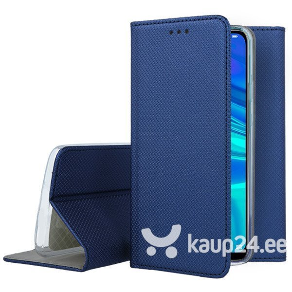 Telefoniümbris Mocco Smart Magnet Book Case For Sony Xperia XZ4 Blue tagasiside