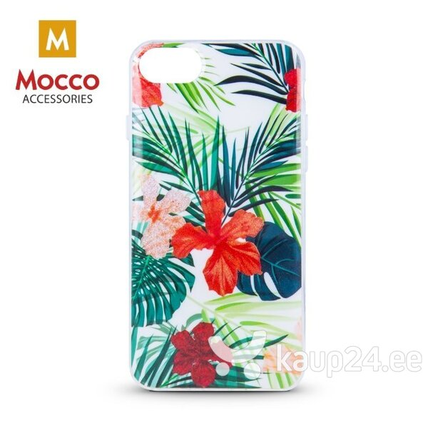 Mocco Spring Case Silicone Back Case for Samsung G960 Galaxy S9 (Red Lilly) hind ja info | Telefoni kaaned, ümbrised | kaup24.ee