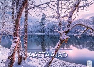 Seinakalender Aastaajad 2021 цена и информация | Календари, ежедневники | kaup24.ee
