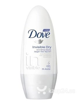 Rulldeodorant naistele Dove Invisible Dry 50 ml цена и информация | Deodorandid | kaup24.ee