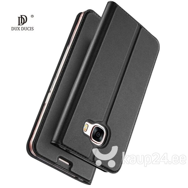 Dux Ducis Premium Magnet Case For Huawei Honor 7C / Y7 (2018) Grey hind