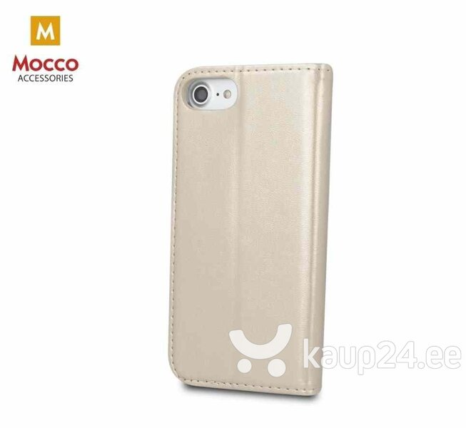 Mocco Smart Magnetic Book Case For Huawei Y6 / Y6 Prime (2018) Gold tagasiside