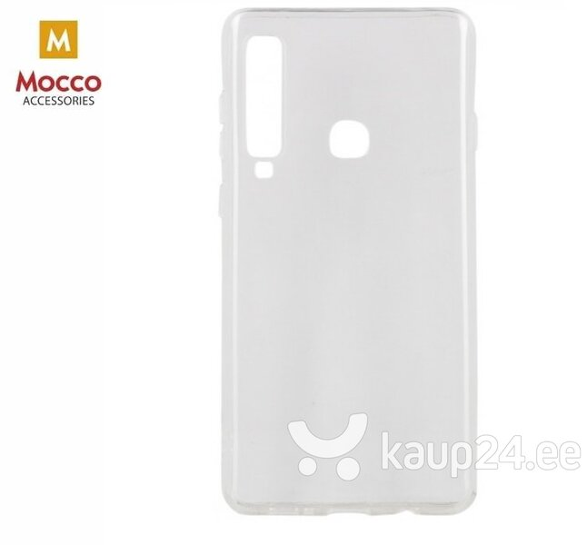 Mocco Jelly Back Case Silicone Case for Samsung A920 Galaxy A9 (2018) Transparent hind ja info | Telefoni kaaned, ümbrised | kaup24.ee