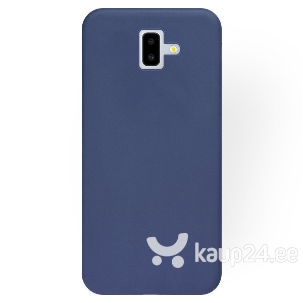 Mocco Soft Magnet Silicone Case With Built In Magnet For Holders for Samsung J610 Galaxy J6 Plus (2018) Blue Internetist