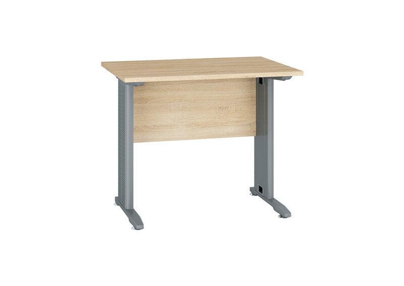 Kirjutuslaud Optimal 16, hele tamm hind ja info | Arvutilauad, kirjutuslauad | kaup24.ee
