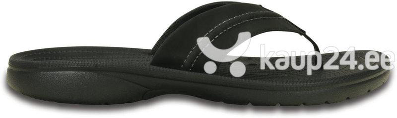 Meeste plätud Yukon Mesa Flip Crocs™, must цена и информация | Crocs™ plätud, suvejalatsid meestele | kaup24.ee