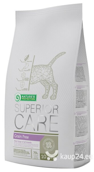 Koeratoit Nature's Protection Superior Care Grain Free 10 kg цена и информация | Kuivtoit koertele | kaup24.ee