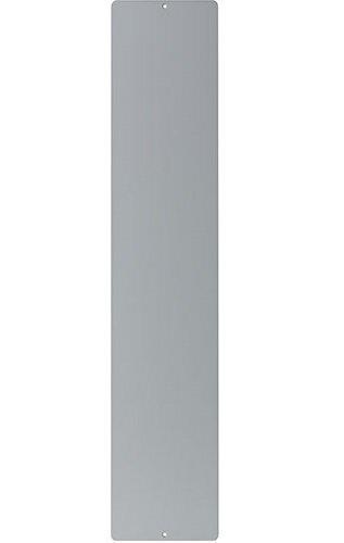 Metallist alus, hõbedane, 14X70cm цена и информация | Dekoratiivsed lillepotid | kaup24.ee