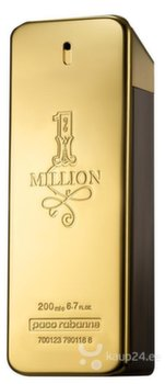 Tualettvesi Paco Rabanne 1 Million EDT meestele 200 ml