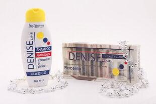 Komplekt juuste tugevdamiseks Biopharma: šampoon 300 ml + ampullid platsenta ekstraktiga 6x10 ml