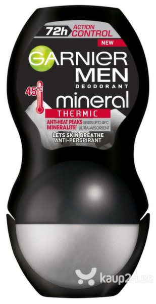 Rulldeodorant Mineral Action Thermic Garnier, 50 ml цена и информация | Deodorandid | kaup24.ee