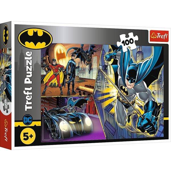 Pusle Trefl Batman (Inimene-nahkhiir), 100 o.