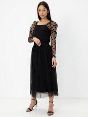 Naiste seelik Vero Moda, must hind ja info | Seelikud | kaup24.ee