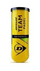 Tennisepallid DUNLOP TEAM Padel 3pet hind ja info | Tennis | kaup24.ee