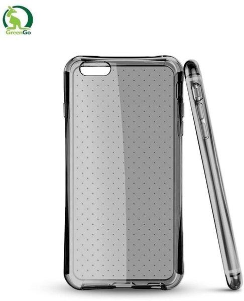 Kaitseümbris GreenGo sobib Samsung Galaxy Core Prime (G360/G361), läbipaistev/must цена и информация | Mobiili ümbrised, kaaned | kaup24.ee