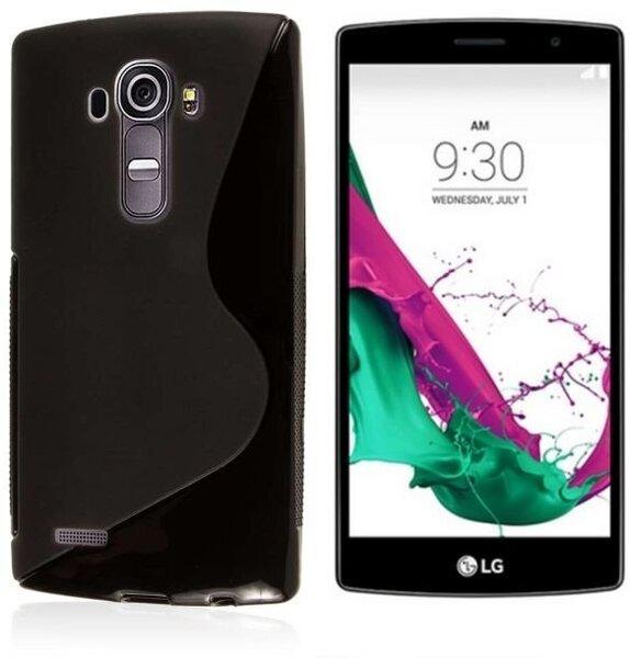 Kaitseümbris Telone S-Case sobib LG G4S (H736), must цена и информация | Mobiili ümbrised, kaaned | kaup24.ee