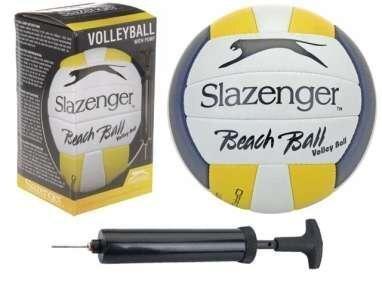 Võrkpall ja pump Slazenger цена и информация | Võrkpall | kaup24.ee
