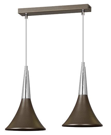 Valgusti Emibig Lares 2, pruun цена и информация | Rippvalgustid | kaup24.ee