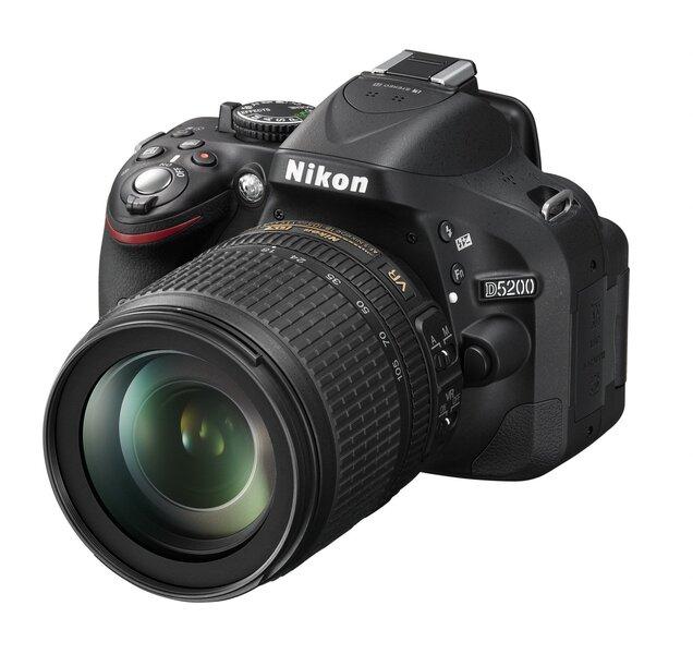 Nikon D5200 18 105mm VR
