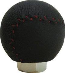Käigukangi nupp, must/punane